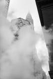 Vapore dalla via sotterranea in NYC Fotografia Stock