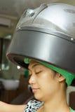 Vapore dei capelli Fotografia Stock