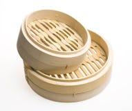 Vapore di bambù Immagini Stock