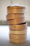 Vapore di bambù asiatico Fotografia Stock Libera da Diritti