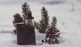 Vapore di inverno Fotografia Stock Libera da Diritti