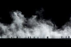 Vapore di Yellowstone Fotografie Stock Libere da Diritti