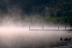 Vapore sul lago Fotografie Stock