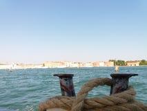 Vaporetto码头 图库摄影