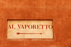 Vaporetto stop stock images