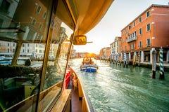 Vaporetto transport in Venice Stock Image