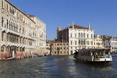 Vaporetto in Venice Stock Photography