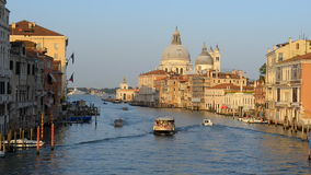 Vaporetto in Venice stock video footage