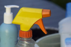 Vaporizer And Cleaning Supplies Stock Photo