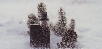 Vaporizzatore di inverno Fotografie Stock Libere da Diritti