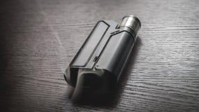 Vaporizzatore nero Fotografie Stock