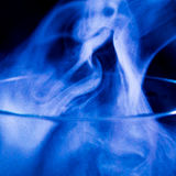 Vapour. Smoke without fire stock image