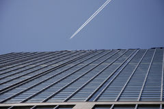Vapour trail Royalty Free Stock Images