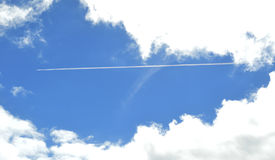 Vapour trail Stock Photos
