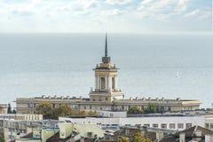 Vaptsarov del nikola de la Academia Naval foto de archivo