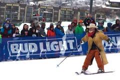 Vaqueiro Downhill Stampede imagens de stock royalty free