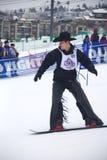 Vaqueiro Downhill Stampede fotografia de stock royalty free