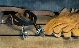 Vaqueiro Gear Imagens de Stock Royalty Free