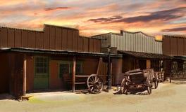 Vaqueiro idoso Town Foto de Stock Royalty Free