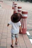 Vaqueiro novo On Street Foto de Stock