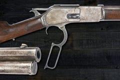 Vaquero antiguo Rifle Imagen de archivo libre de regalías