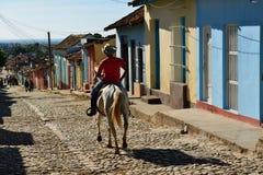 Vaquero cubano Fotografía de archivo libre de regalías
