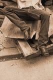 Vaquero del metro Foto de archivo