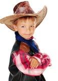 Vaquero del muchacho Imágenes de archivo libres de regalías