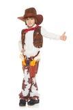 Vaquero del niño pequeño Fotografía de archivo libre de regalías