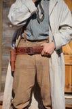 Vaquero del oeste salvaje Fotografía de archivo libre de regalías