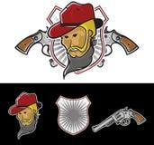 Vaquero Mascot Imagen de archivo libre de regalías