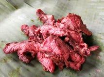 Varíe la carne rara fotografía de archivo