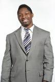 Varón afroamericano en traje Fotos de archivo libres de regalías