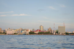 varón Ciudad maldives Fotografía de archivo libre de regalías