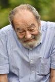 Varón colombiano mayor infeliz Fotografía de archivo libre de regalías