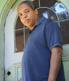 Varón del afroamericano Foto de archivo