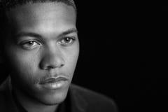 Varón del afroamericano imágenes de archivo libres de regalías