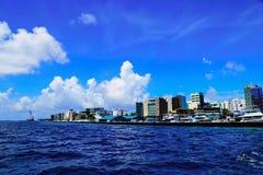 Varón del capital de Maldivas Imagen de archivo libre de regalías