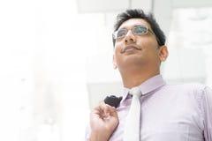 Varón indio que mira lejos Imagen de archivo libre de regalías