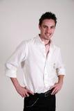 Varón joven - Jon Foto de archivo libre de regalías