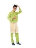 Varón tradicional del malay Imagen de archivo
