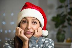 Var är du, jultomten? royaltyfri foto