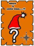Var är Santa Claus Royaltyfri Bild
