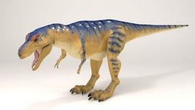VAR-δεινόσαυρος τυραννοσαύρων Στοκ Εικόνες