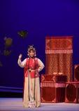 """Var en västra Chamber†för äktenskapsmäklare-Hong Niang-Kunqu opera""""the  Royaltyfri Bild"""