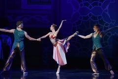 """Var i stånd till att uppnå vägen för framgång en eller en annan Nights†för balett""""One tusen och en  Arkivfoton"""