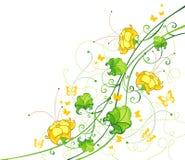 var kan corner olika blom- använda illustrationavsikter Royaltyfria Foton