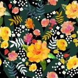 var kan olik blom- använd illustrationavsikttextur Royaltyfria Bilder