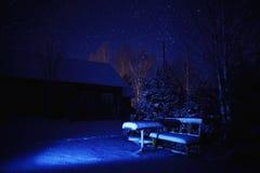 var kan planlägga den din använda vintern för illustrationligganden natten royaltyfri foto
