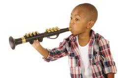 var klarinettspelare önskar till Royaltyfri Bild